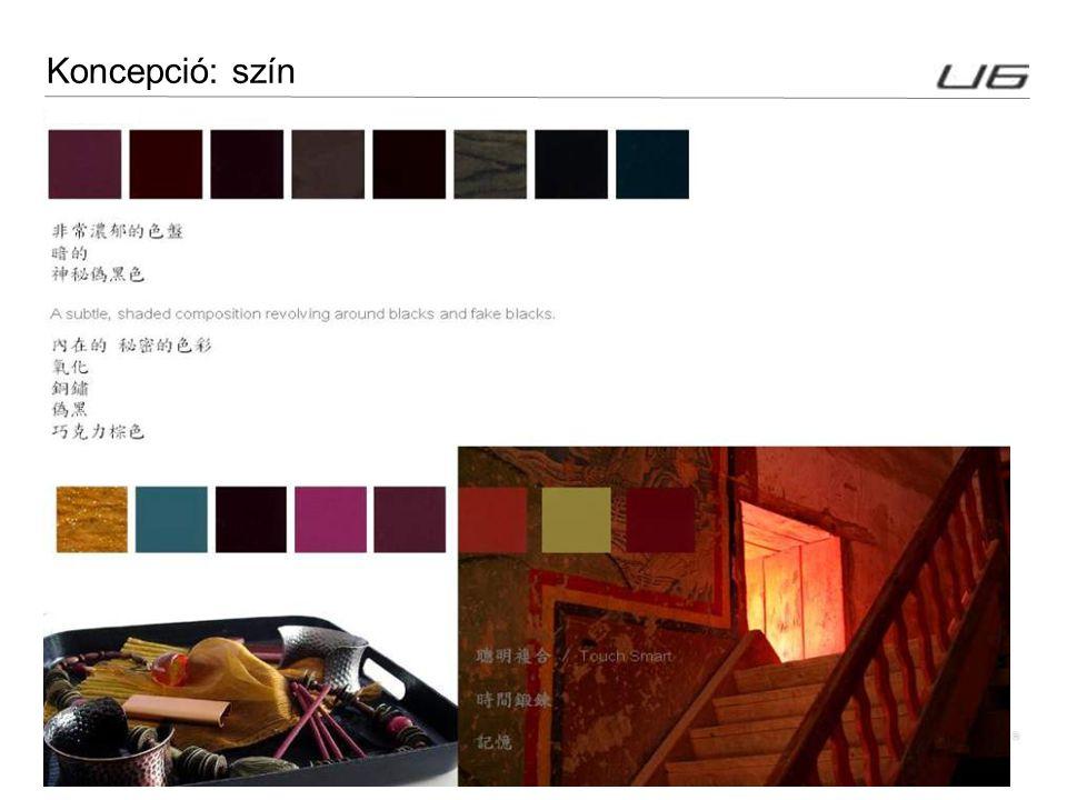 16 Koncepció: szín