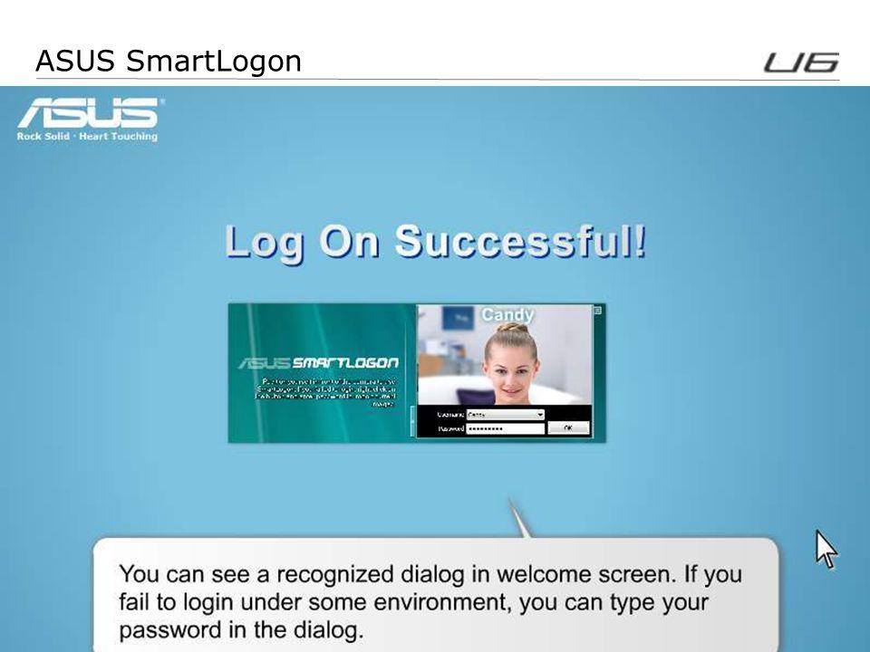 8 ASUS SmartLogon