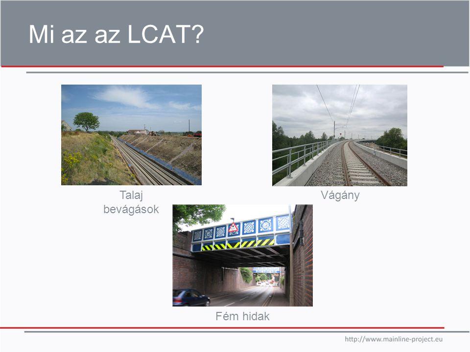 Mi az az LCAT Talaj bevágások Vágány Fém hidak