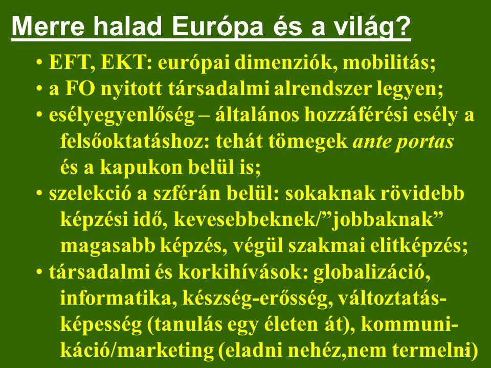 13 Merre halad Európa és a világ.