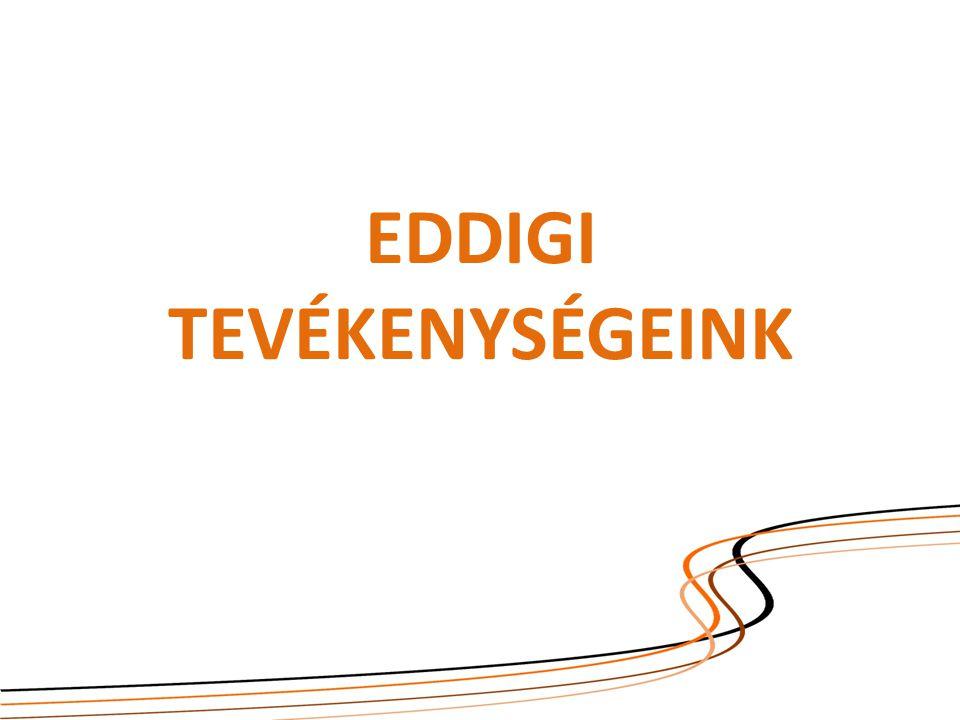 EDDIGI TEVÉKENYSÉGEINK