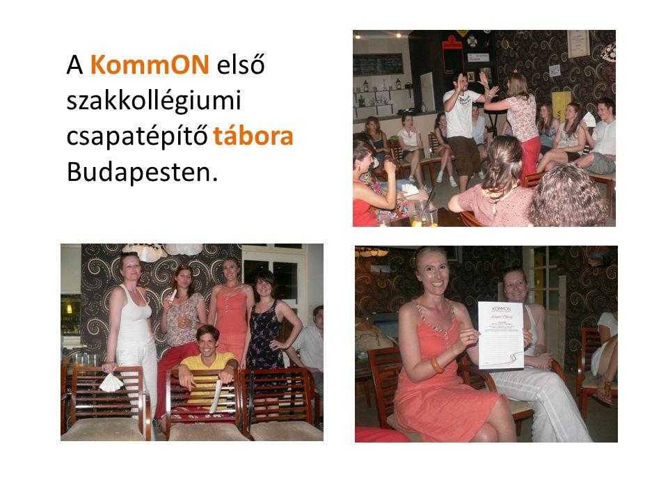 A KommON első szakkollégiumi csapatépítő tábora Budapesten.
