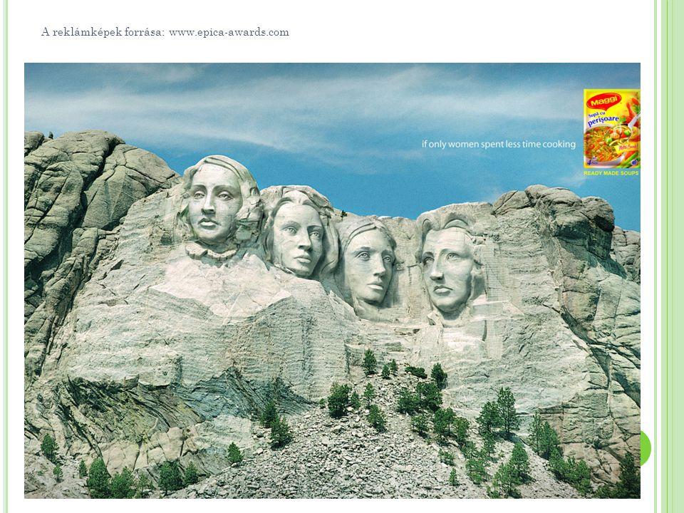 A reklámképek forrása: www.epica-awards.com