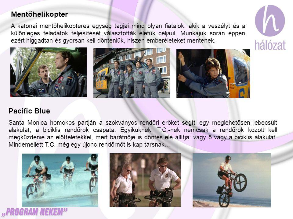 Mentőhelikopter A katonai mentőhelikopteres egység tagjai mind olyan fiatalok, akik a veszélyt és a különleges feladatok teljesítését választották éle