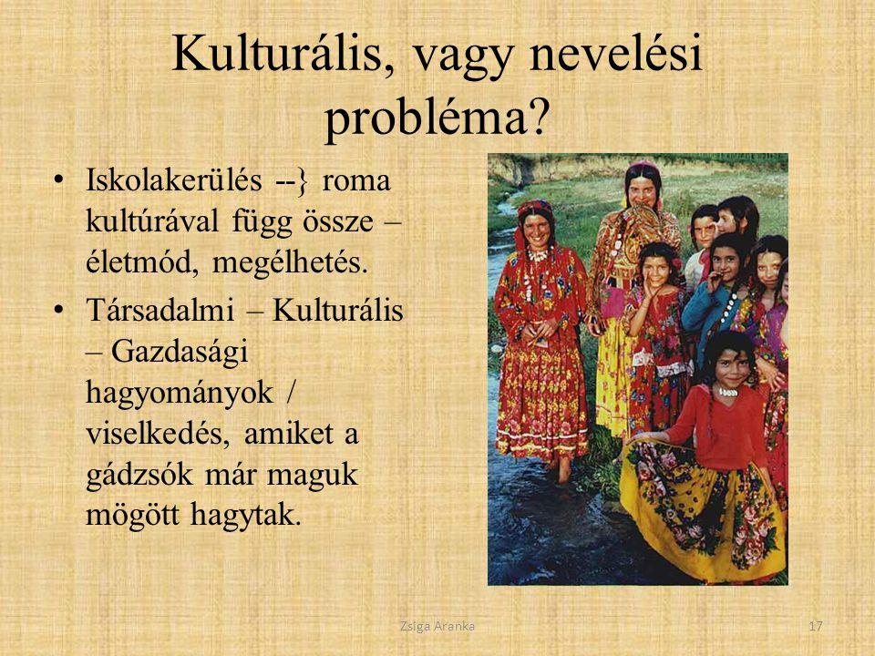 Kulturális, vagy nevelési probléma.