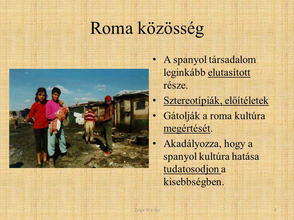 Roma közösség A spanyol társadalom leginkább elutasított része.