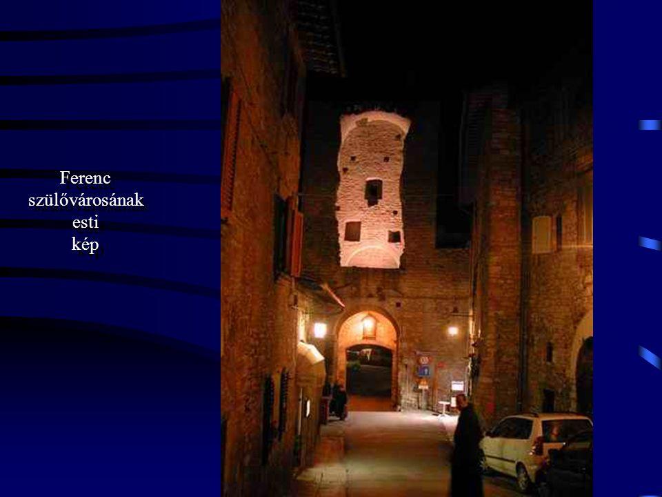 """A Rend alapítója 1182–ben született Assisiben. Mindössze 44 évet élt. Sokan """"második Krisztusnak"""" nevezik őt."""