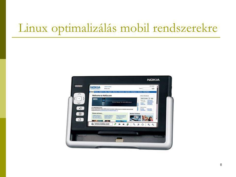8 Linux optimalizálás mobil rendszerekre
