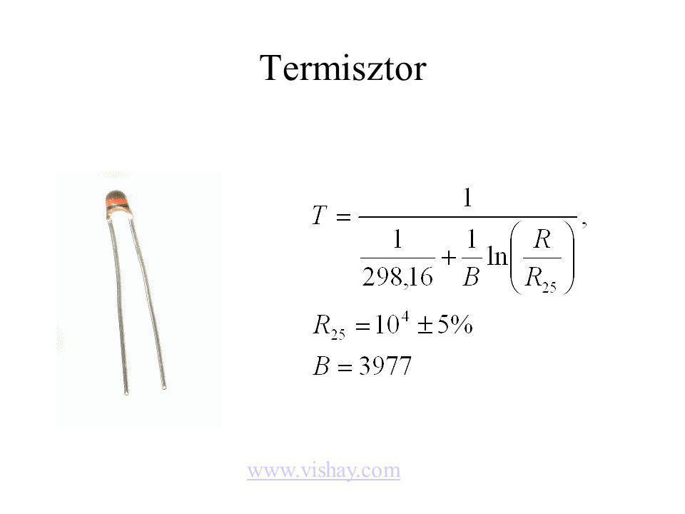 Termisztor www.vishay.com