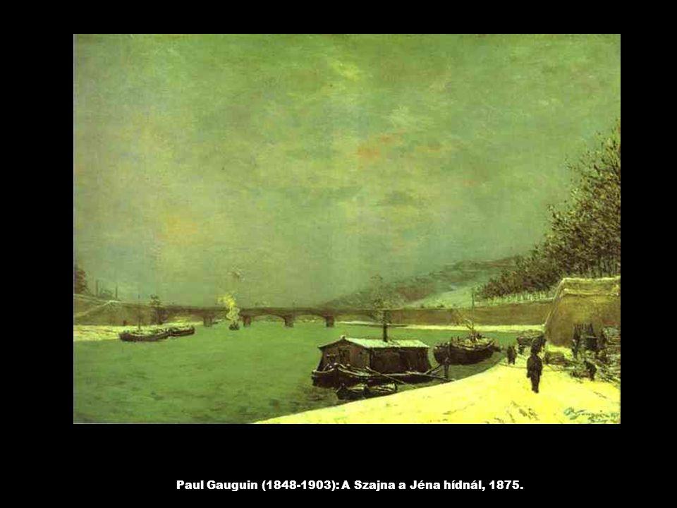 Paul Cézanne(1839-1906): Három fürdőző nő, 1875.