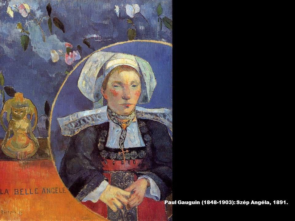 Paul Gauguin (1848-1903): Szép Angéla, 1891.