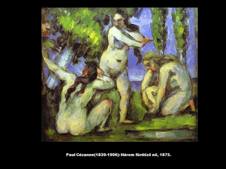Paul Cézanne(1839-1906): Fiú vörös mellényben, 1888., 1889.