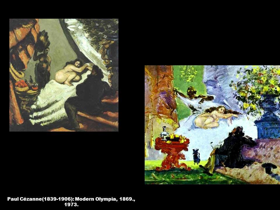 Paul Cézanne(1839-1906): Modern Olympia, 1869., 1973.