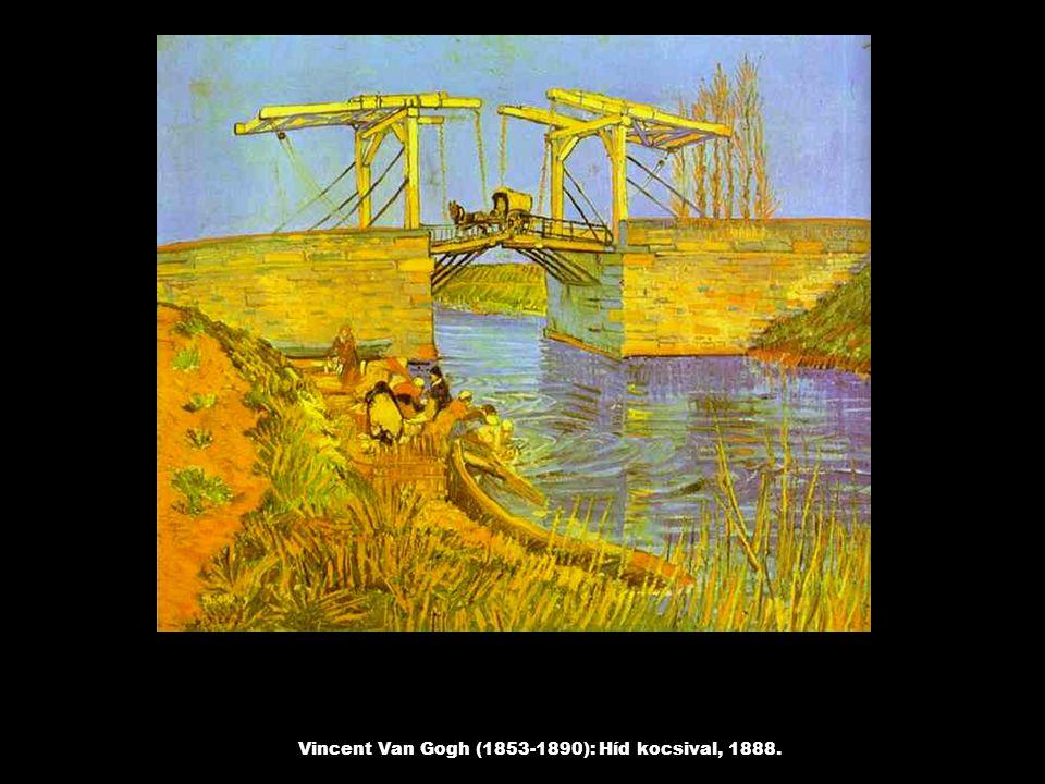 Vincent Van Gogh (1853-1890): Híd kocsival, 1888.