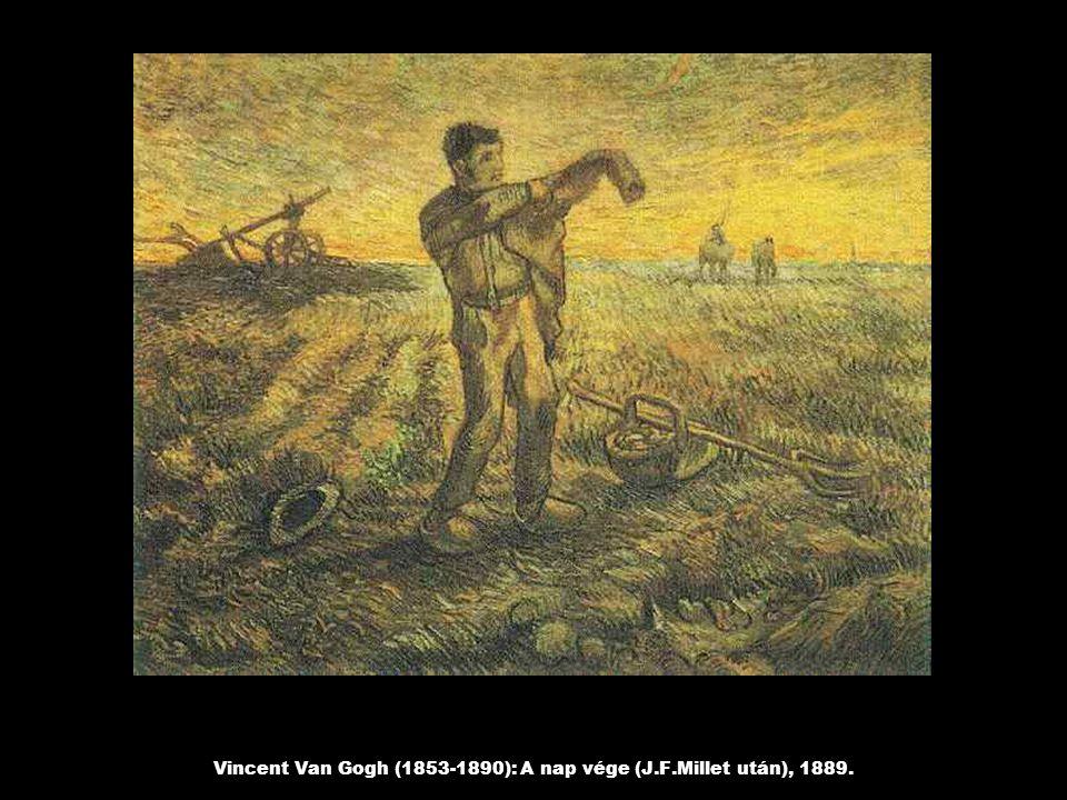 Vincent Van Gogh (1853-1890): A nap vége (J.F.Millet után), 1889.