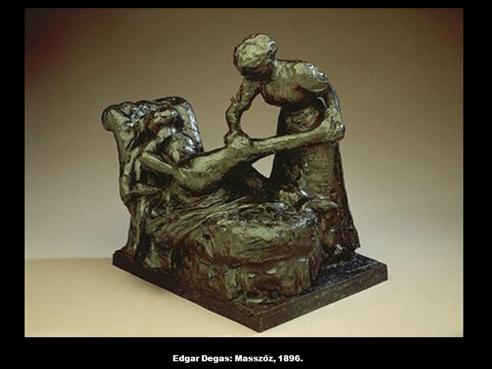 Edgar Degas: Masszőz, 1896.