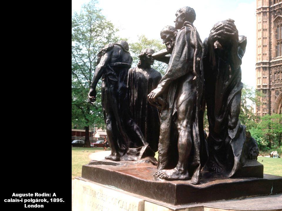 Auguste Rodin: A calais-i polgárok, 1895. London