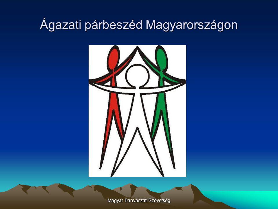 Magyar Bányászati Szövetség Köszönöm a figyelmet. Jó szerencsét!