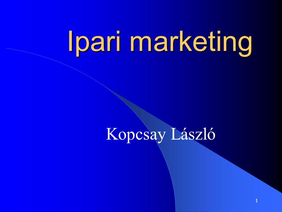 1 Ipari marketing Kopcsay László