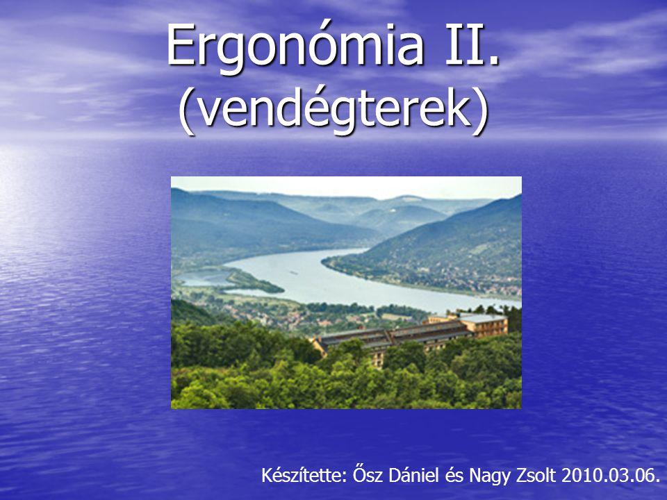 Ergonómia II. (vendégterek) Készítette: Ősz Dániel és Nagy Zsolt 2010.03.06.