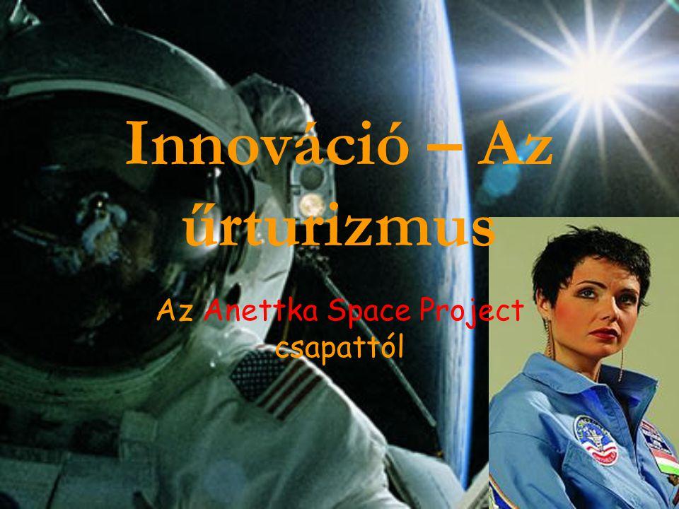 Innováció – Az űrturizmus Az Anettka Space Project csapattól