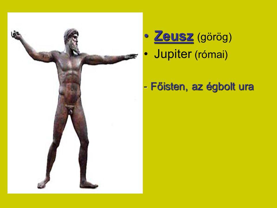 ZEUSZ Europé Minosz Alkméné Héraklész Danaé Perszeusz Léda Helené Zeusz emberektől származó utódai