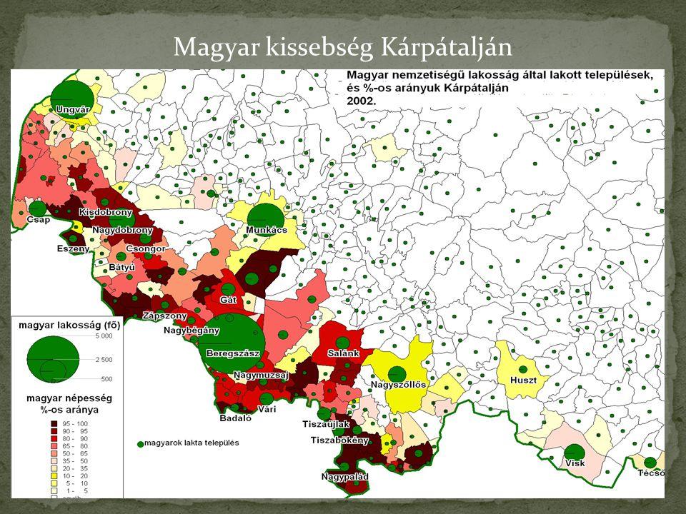 Magyar kissebség Kárpátalján