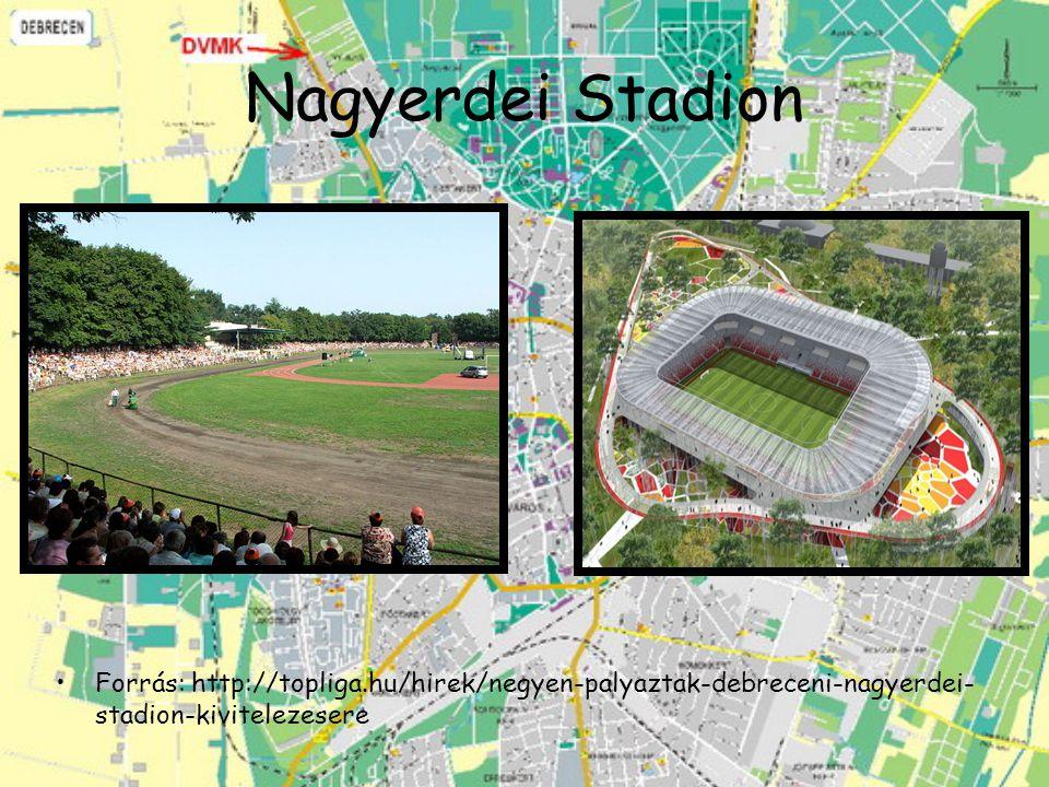Nagyerdei Stadion Forrás: http://topliga.hu/hirek/negyen-palyaztak-debreceni-nagyerdei- stadion-kivitelezesere