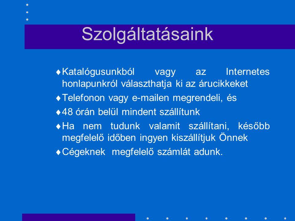 CENTRUM KFT. Budapest, XXX. Köves u. 42 Telefon: 6001240 Fax: 6004214 www. centrum hu.