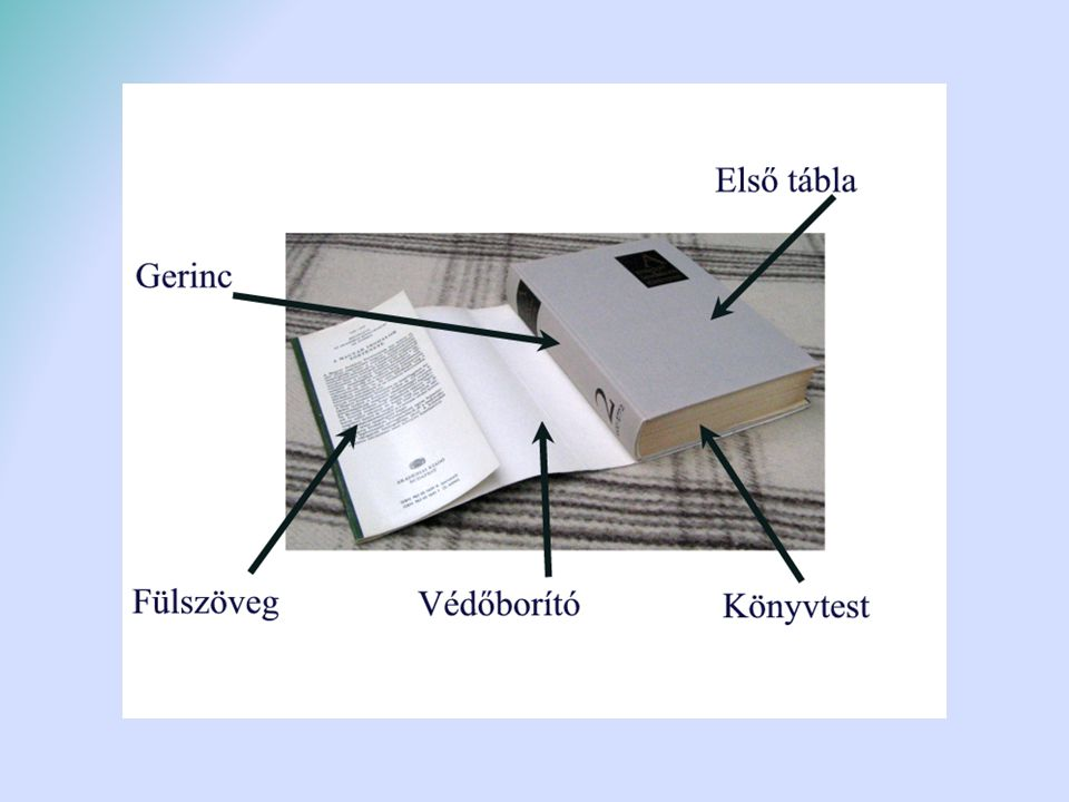 A könyv A könyv fajtái Nem nyomtatott dokumentumok 17