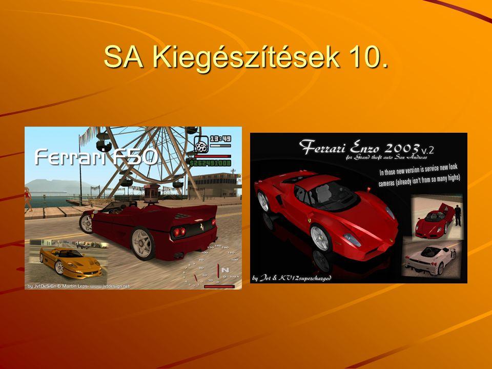 SA Kiegészítések 10.