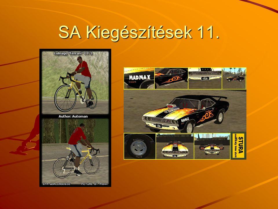 SA Kiegészítések 11.