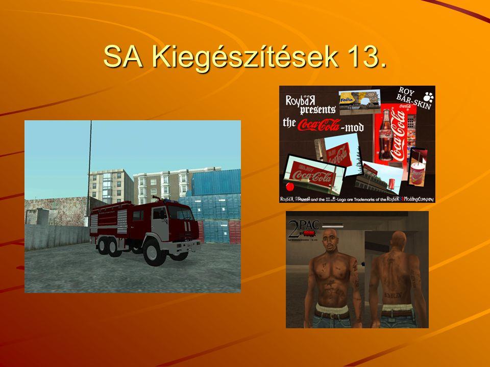 SA Kiegészítések 13.