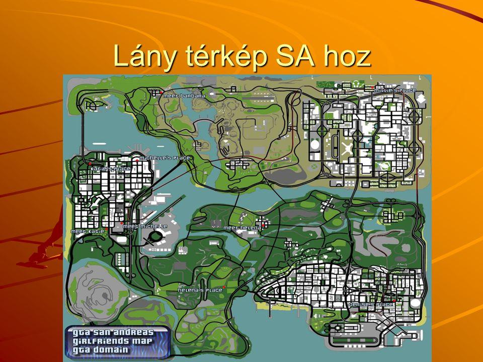 Lány térkép SA hoz