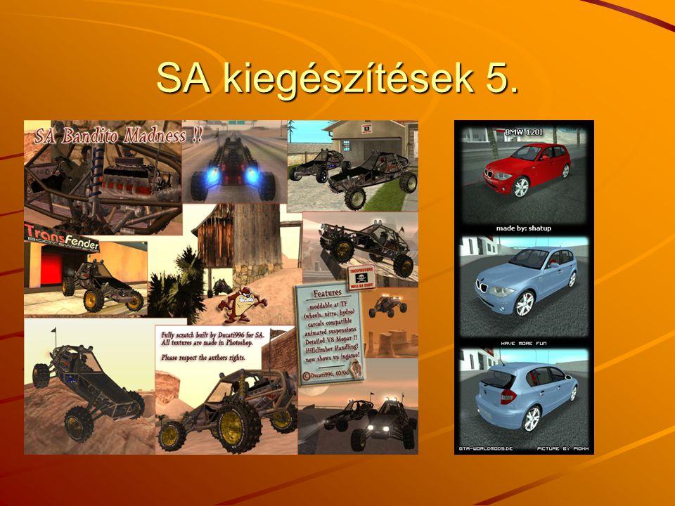 SA kiegészítések 5.