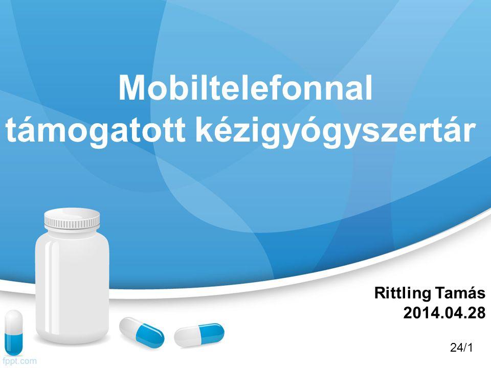 Gyógyszerárak karbantartása Az OEP publikus gyógyszertörzset letöltve frissíthetjük a program adatait.