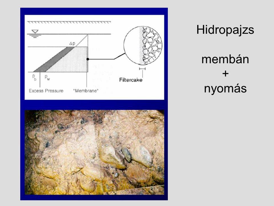 Hidropajzs membán + nyomás