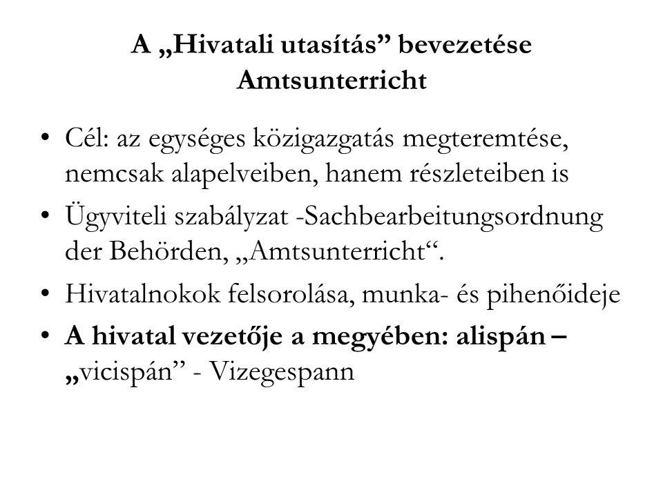 A neoabszolutizmus kora A magyarországi változások 1848-49.