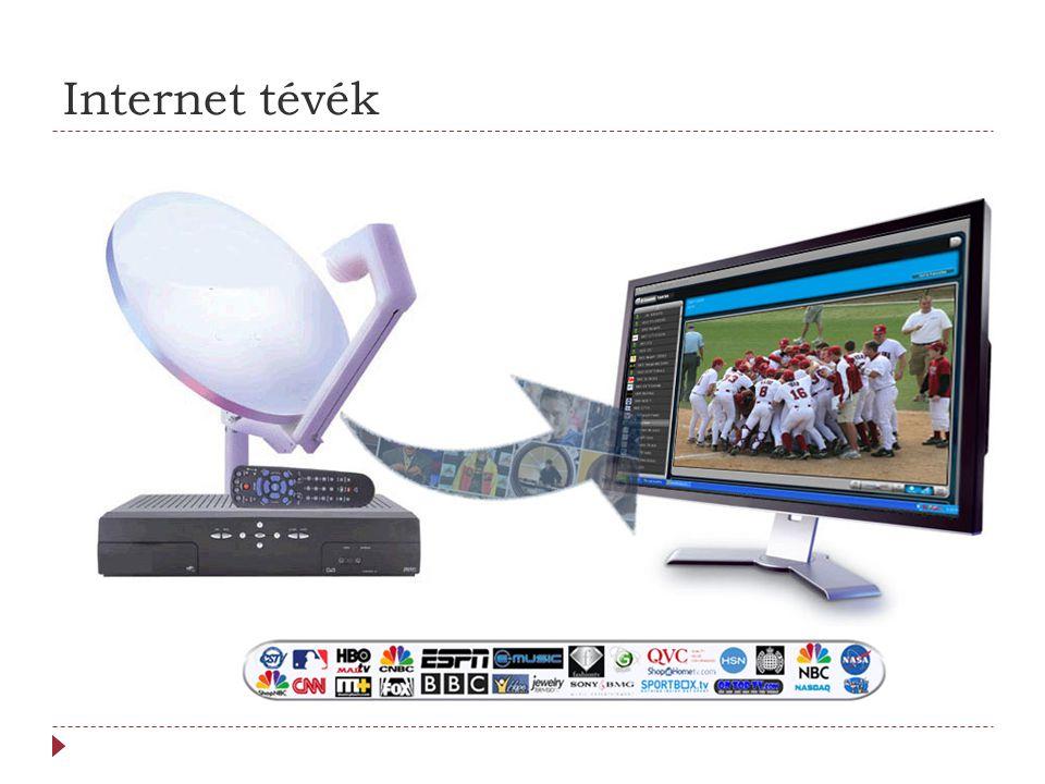 Internet tévék