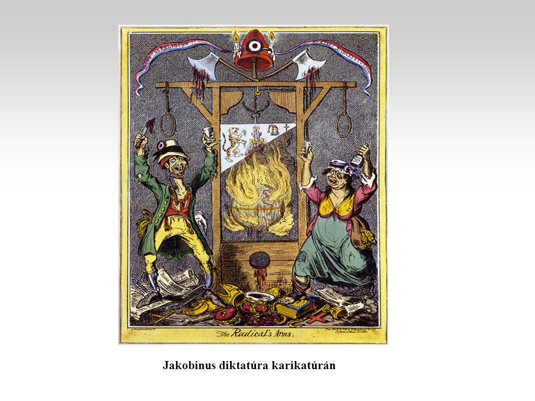 Jakobinus diktatúra karikatúrán