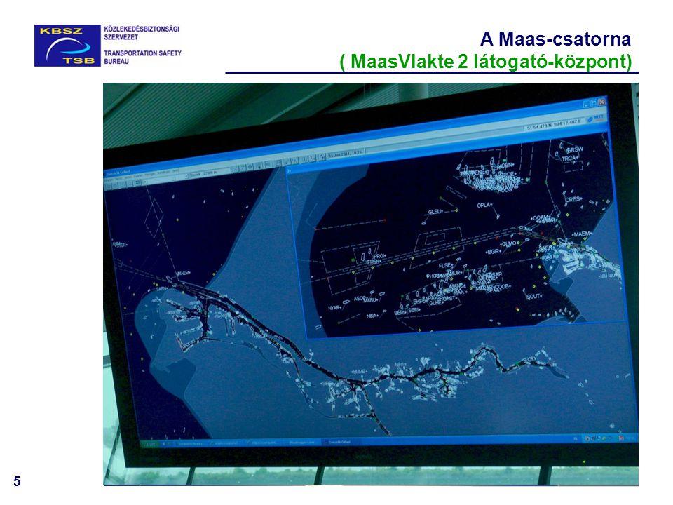 5 A Maas-csatorna ( MaasVlakte 2 látogató-központ)