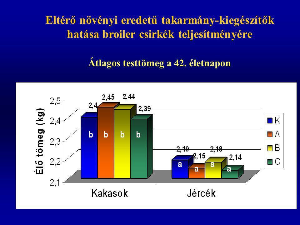 Broiler indexek