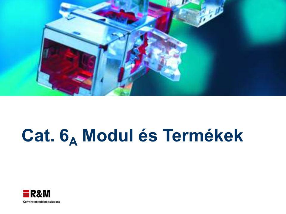 © Reichle & De-Massari AG Page 2 R&M Advanced System termékei Már elérhető Cat.