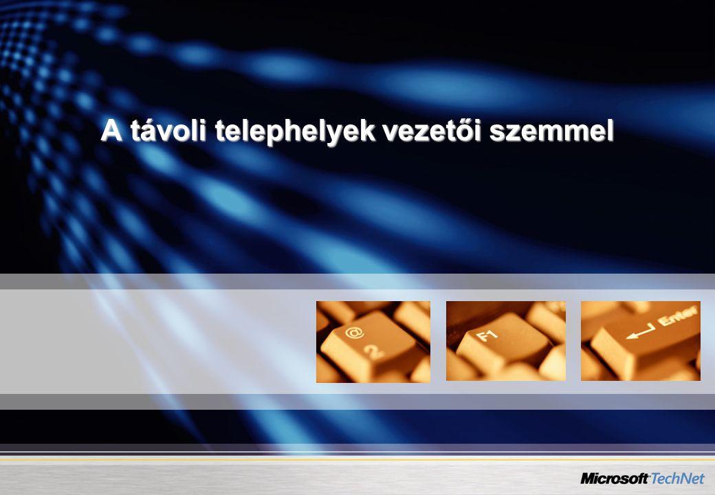 14 A DFS elvi működése Budapest Sopron Távoli telephely felhasználó Virtuális névtér Bud-fp1 Sop-fp1 \\ceg.local\dfs\kozos