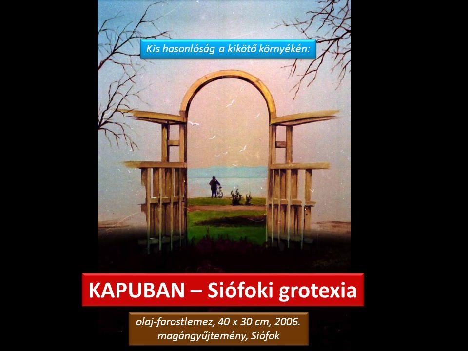 """LEONOEL ÁTÉLI EGY FÜGE EXTÁZISÁT olaj-vászon, 82 x 58 cm, 2001. magángyűjtemény, Szolnok olaj-vászon, 82 x 58 cm, 2001. magángyűjtemény, Szolnok """"Ez a"""
