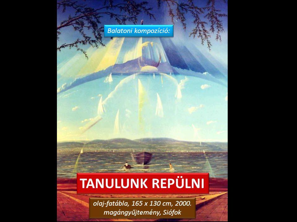 ALKONY A BALATONON olaj-farostlemez, 60 x 80 cm, 2006. magángyűjtemény, Debrecen olaj-farostlemez, 60 x 80 cm, 2006. magángyűjtemény, Debrecen Siófoki
