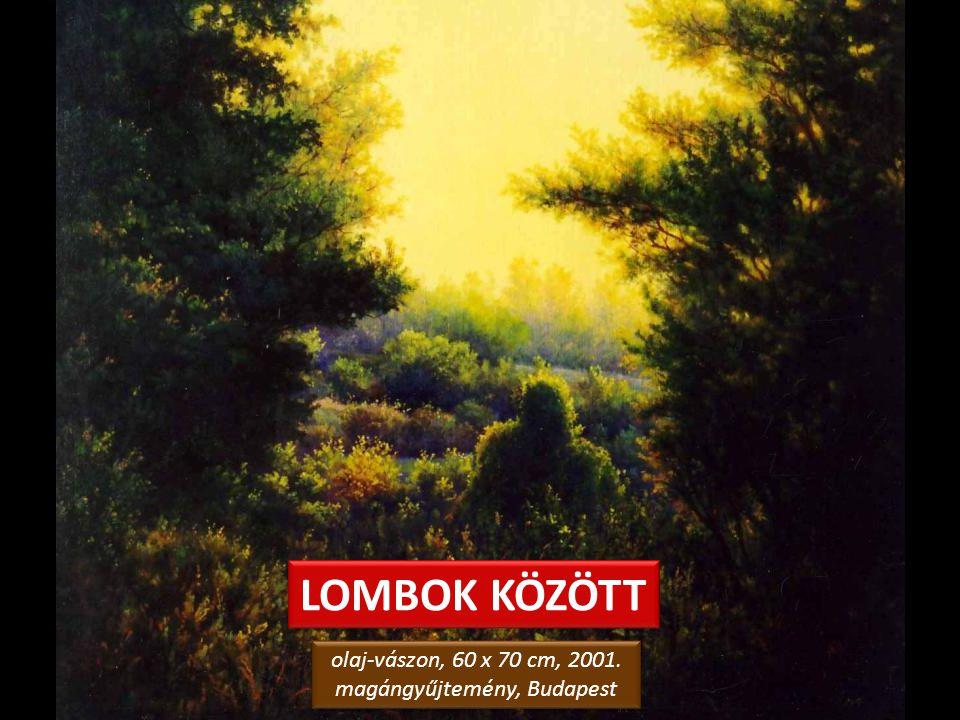 TÖREKI LIGET olaj-farostlemez, 50 x 60 cm, 2006. magángyűjtemény, Siófok olaj-farostlemez, 50 x 60 cm, 2006. magángyűjtemény, Siófok