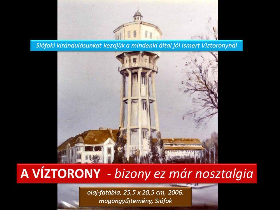 GÉMESKÚT TÖREKI FELÉ olaj-farost, 50 x 70 cm, 1992.