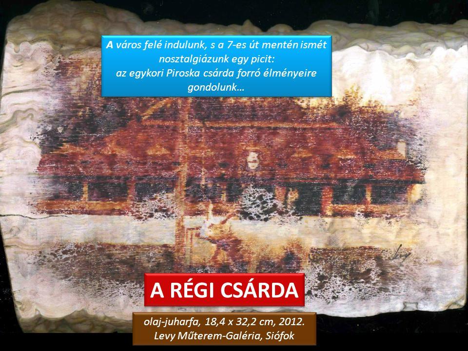 DERENGŐ NAP a töreki domboldalon olaj-vászon, 13 x 18 cm, 2008. magángyűjtemény, Siófok olaj-vászon, 13 x 18 cm, 2008. magángyűjtemény, Siófok