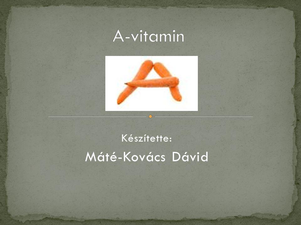 Készítette: Máté-Kovács Dávid